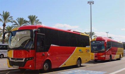 El autobús interurbano Aerotib reforzará su servicio a partir del próximo 1 de mayo