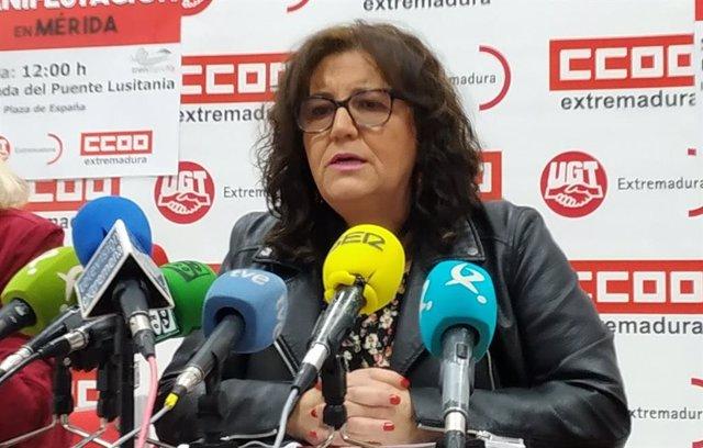 """EPA.- UGT cree """"bueno"""" el dato para Extremadura pero no están """"satisfechos"""" porque la tasa de desempleo es """"muy alta"""""""
