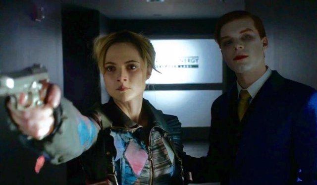 Joker y Harley Quinn, juntos en el final de Gotham