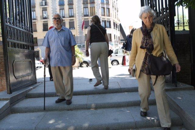 La pensión media en la Comunidad de Madrid sube un 5,5% y el número de pensiones un 2%