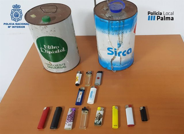 Successos.- Els detinguts per cremar contenidors aquest dilluns van provocar danys valorats en 100 mil euros