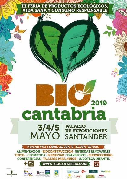 La feria ecológica BioCantabria celebrará su tercera edición del 3 al 5 de mayo