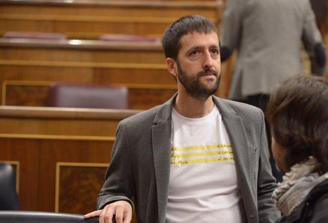 Juanma del Olmo, dirigente y diputado de Podemos