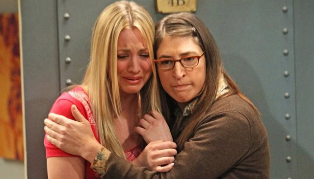 "Kaley Cuoco llora desconsolada por el final de The Big Bang Theory: ""Me ha dejado sin palabras"""