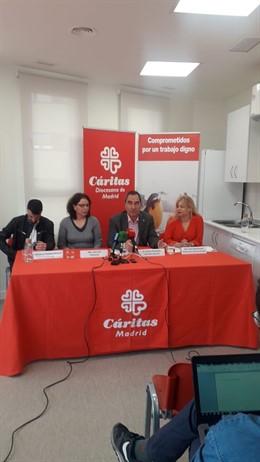 """Caritas Madrid exige a los partidos una respuesta común para dignificar el trabajo """"más allá de las siglas"""""""