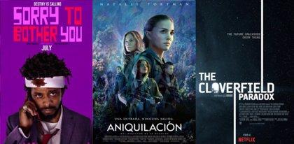 Aniquilación, Sorry to Bother You, The Cloverfield Paradox y Eighth Grade, cine inédito en cines ya en DVD y Blu-Ray