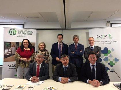 Farmacéuticos sin Fronteras y los farmacéuticos madrileños lanzan una iniciativa para mejorar la salud de vulnerables