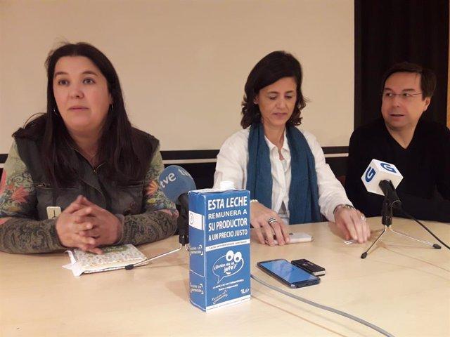 Rural.- Presentan en Galicia la iniciativa que garantiza a los productores un precio mínimo por el litro de leche