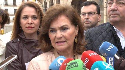 """Calvo asegura que PP y Cs """"han comprado la idea radicalizada de VOX"""" y por eso la gente """"ya no va"""" a sus mítines"""