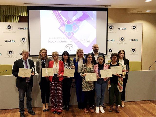Málaga.- La UMA acoge la entrega de premios del IX Congreso Internacional para el Estudio de la Violencia Contra Mujeres