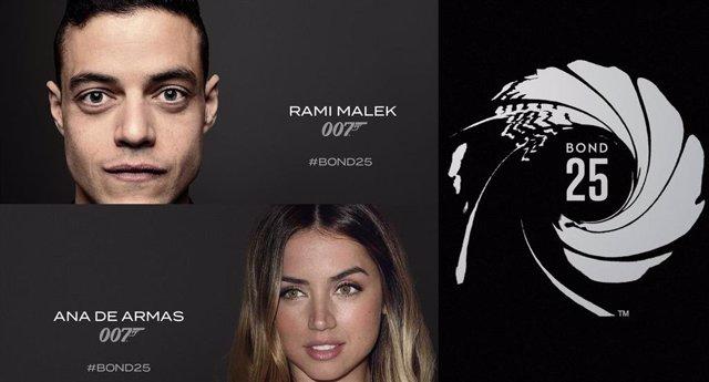 Rami Malek confirmado como el villano de Bond 25, que también contará con Ana de Armas