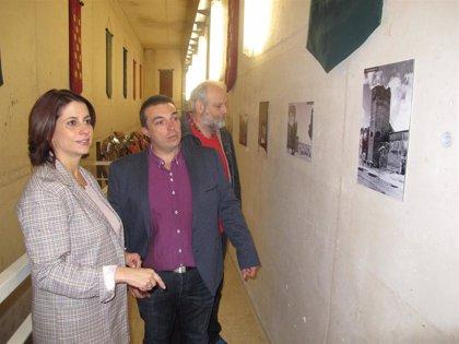 La Muralla de Teruel exhibe su evolución en el último siglo en una exposición con 20 fotografías