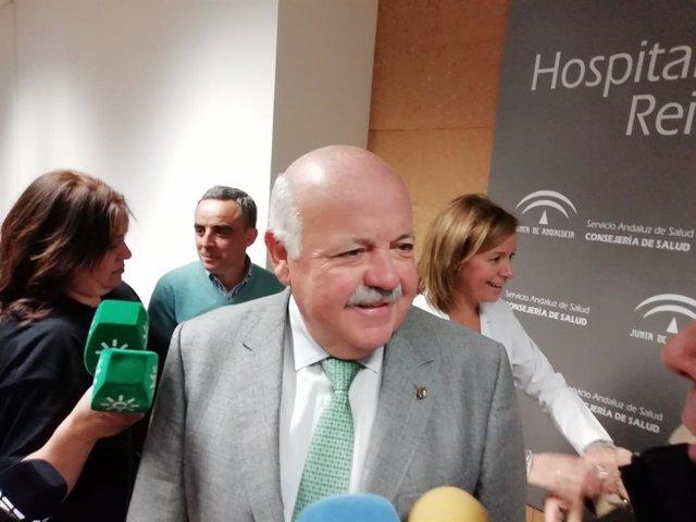 """Andalucía.- Jesús Aguirre destaca la """"tranquilidad"""" que da el programa de trasplantes del SAS"""