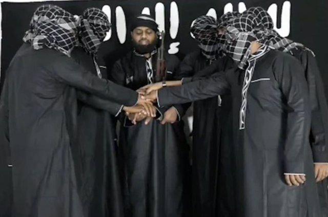 Alleged muslim terrorists behind Easter church bombings