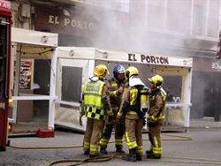 Un incendi crema la cuina d'un restaurant al centre de Lleida (ACN)