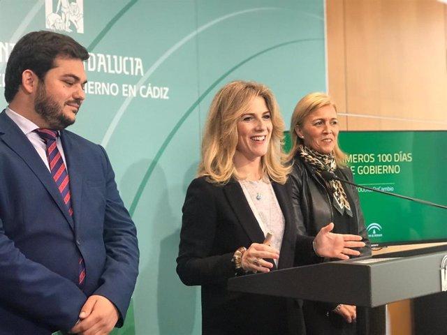 """Cádiz.- Mestre destaca la """"cohesión"""" del gobierno de la Junta en la provincia """"que conlleva agilidad y mano tendida"""""""