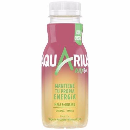 Coca-Cola refuerza su apuesta por la bebidas refrescantes funcionales en España con Aquarius Raygo