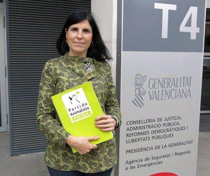 """Candidata de PACMA por Valencia espera entrar al Congreso porque """"un escaño puede ser decisivo"""""""