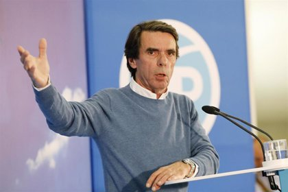 """Aznar: """"Si gana la izquierda habrá indultos para los golpistas y esto es una certeza"""""""