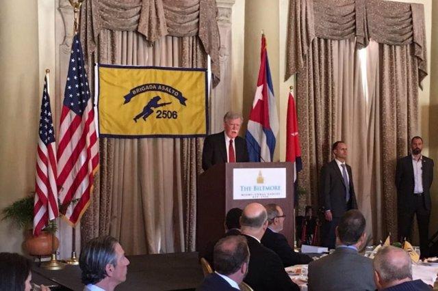 "Cuba califica a John Bolton de ""mentiroso patológico"" y acusa a EEUU de difundir falsedades sobre Venezuela"