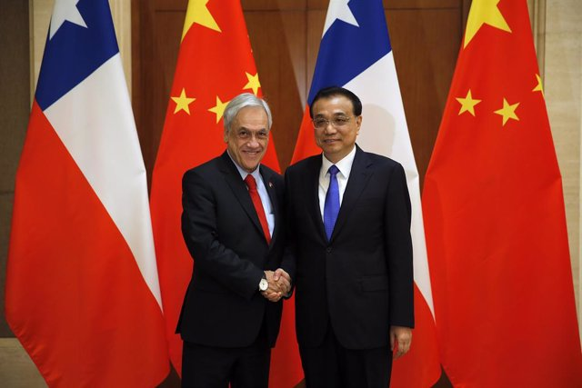 President of Chile Sebastian Pinera in China
