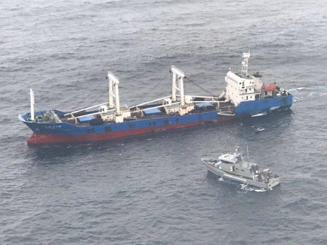 China respalda la condena del buque interceptado en las Islas Galápagos