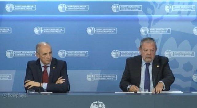 El consejero Pedro Azpiazu presenta el proyecto de Presupuestos 2019