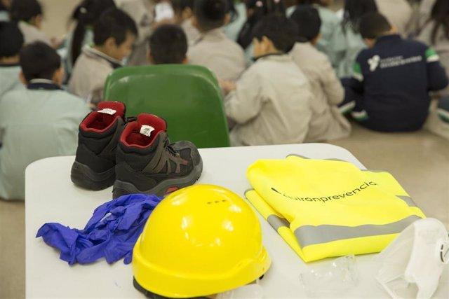 Empresas.- Quirónprevención inicia un tour de concienciación sobre seguridad y salud en colegios