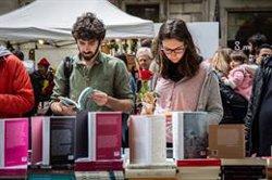 Els llibreters catalans van facturar 22 milions per Sant Jordi, un 0,6% més (David Zorrakino - Europa Press)