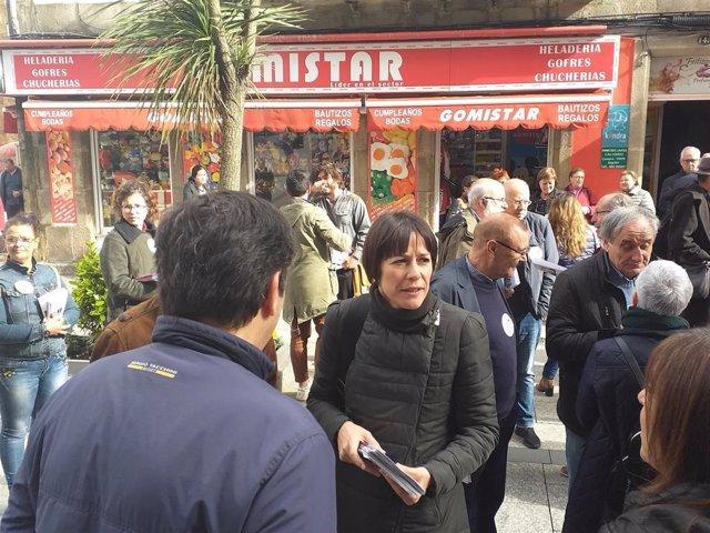"""Alcoa.-Ana Pontón ve """"responsabilidad directa de PP y PSOE"""", que """"juegan con el futuro"""" de los trabajadores"""