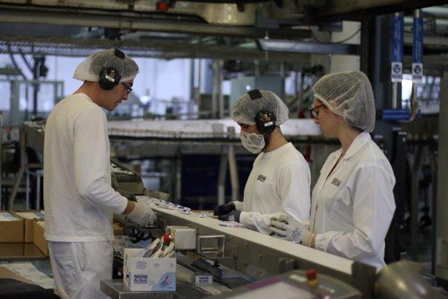Fbrica de Nestlé en Pontecesures (Pontevedra)