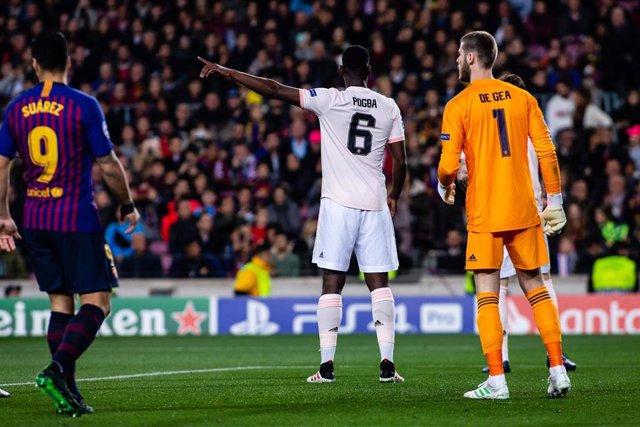 FOOTBALL - CHAMPIONS LEAGUE - FC BARCELONA V MANCHESTER UNITED