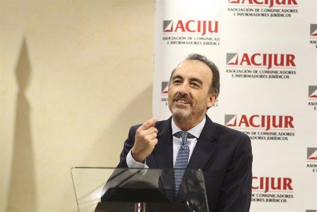 Entrega de la VIII Edición de los Premios Puñetas de ACIJUR en la sede de la Asociación de la Prensa de Madrid