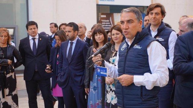 """Málaga.- 28A.-Bendodo: """"El modelo de PP es el de bajada de impuestos para mejorar servicios públicos y crear más empleo"""""""