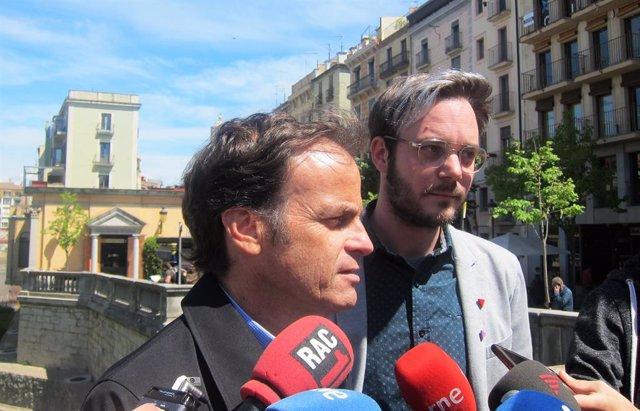"""28A.- Asens Demana El Vot Progressista I Catalanista Per """"Parar Els Peus"""" A Cs A Girona"""