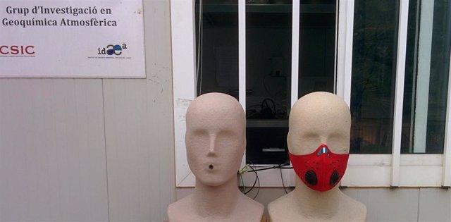 El ajuste de las mascarillas anticontaminación es más importante que el material, según el CSIC
