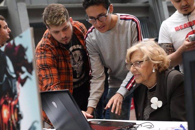 Carmena propone un vivero dedicado a los videojuegos en La Nave y desatascar el museo dedicado a esta industria en AZCA