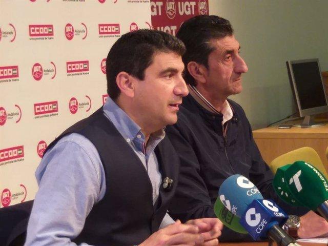 """Huelva.-CCOO y UGT se movilizarán el 1 de mayo desde la Plaza 12 de Octubre y piden """"atención"""" y """"compromiso"""" con Huelva"""