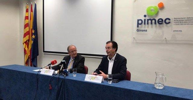 González (Pimec) defiende que la economía catalana crecerá por encima del 2% este 2019