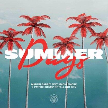 Martin Garrix presenta su candidatura a canción del verano con Macklemore y Patrick Stump de Fall Out Boy