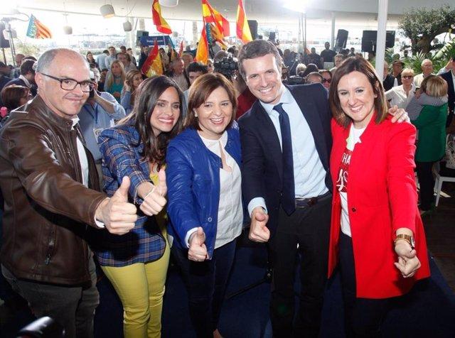"""28A.- Casado """"Barre Para Casa"""" Y Confía En Que Bonig Y Català Ganarán Para Atender Las """"Justas Demandas"""" De La Comunitat"""