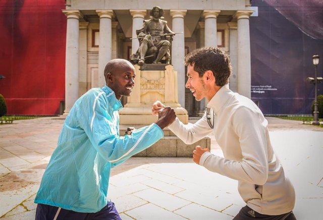 Atletismo.- Javi Guerra, frente a la 'armada' africana este sábado en el Maratón de Madrid