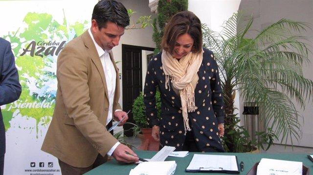 """Córdoba.- La alcaldesa dice que """"no hay división"""" con IU por la suspensión de licencias a pisos turísticos"""