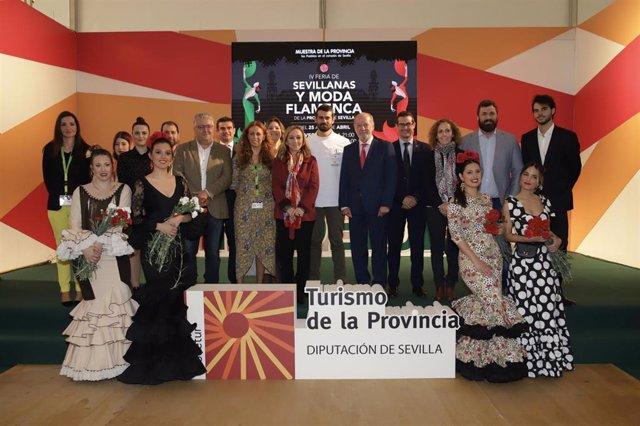 Sevilla.- La Diputación acoge hasta este sábado la IV Feria de Sevillanas y Moda Flamenca