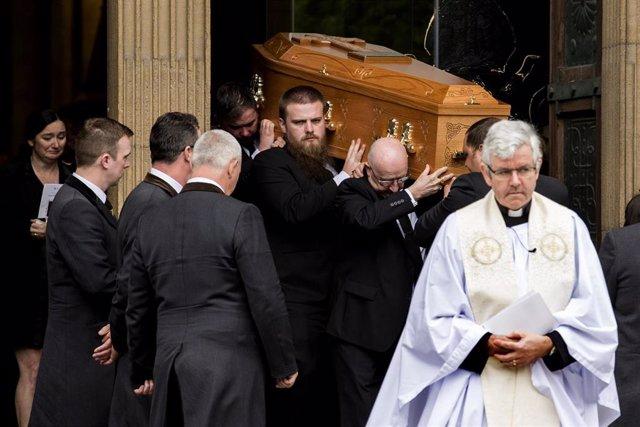 Lyra McKee funeral in Belfast