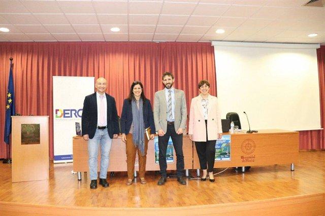 Huelva.- Capitanía Marítima muestra en la UHU cómo lucha junto a Portugal contra el cambio climático en el Bajo Guadiana