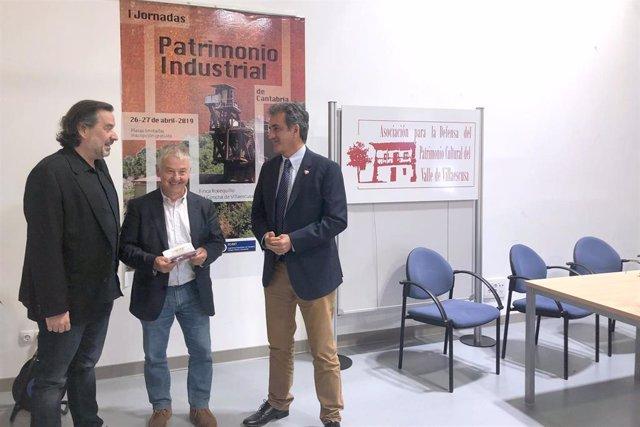 """El patrimonio industrial de Cantabria, """"de los más importantes"""" del país, según Martín"""