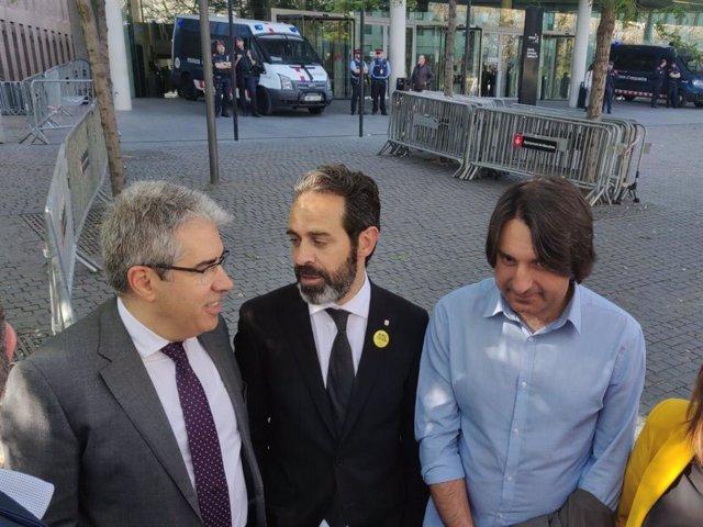 La jutgessa de el 1-O de Barcelona notifica a 15 de 30 investigats el seu processament