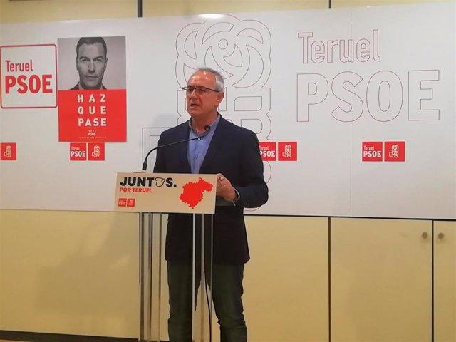 """Morón (PSOE) cree que la alcaldesa de Teruel utiliza el hospital """"como argumento electoral"""""""
