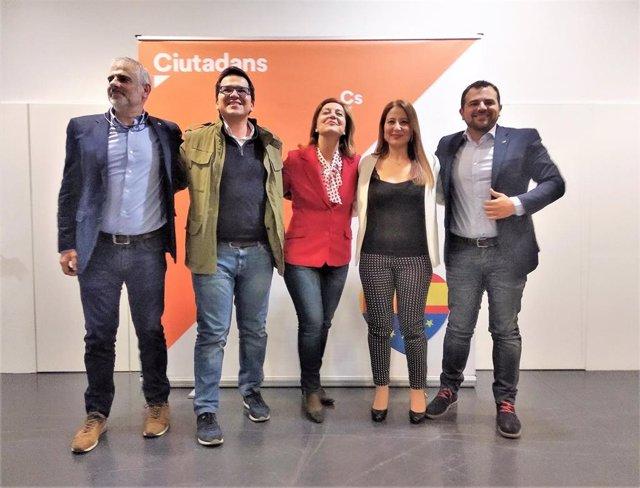 28A.- Cs Apela Al Votante Histórico Socialista Equiparando A Rivera Con Felipe González